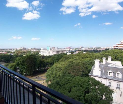 penthouse con vistas a embajada inglesa, río y ciudad - barrio norte