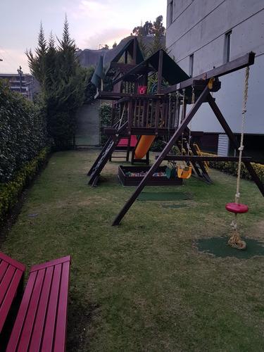 penthouse de lujo 3 recs. en parque la mexicana en santa fe