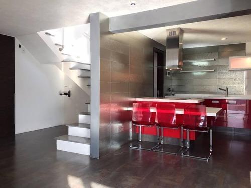penthouse en 2 niveles con terraza privada