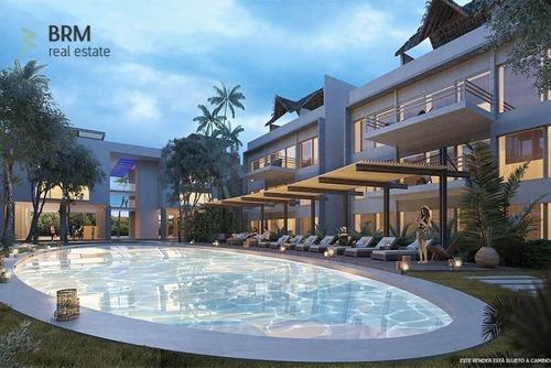 penthouse en aldea zama con dos habitaciones, rooftop y alberca compartida.