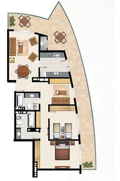 penthouse en alquiler anual en  punta del este - aidy grill