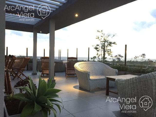 penthouse en alquiler - en venta con  parrillero en   punta del este - avda. roosevelt