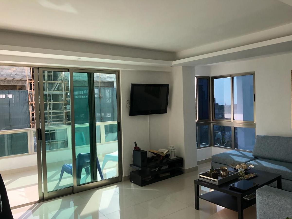 penthouse en bella vista de 2 niveles  con terraza