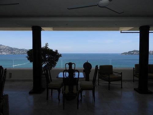 penthouse en cond cruz del sur, fracc farallón, acapulco