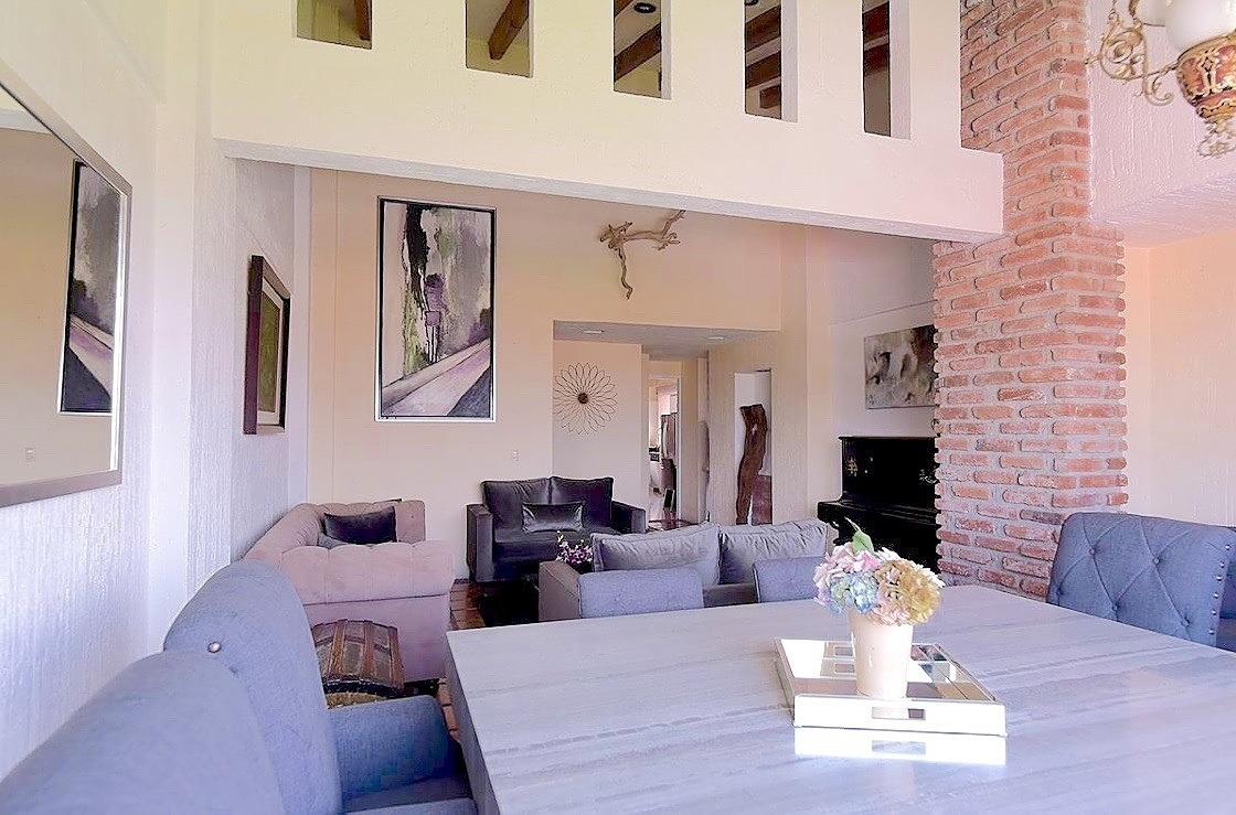 penthouse en interlomas, doble altura con gran vista