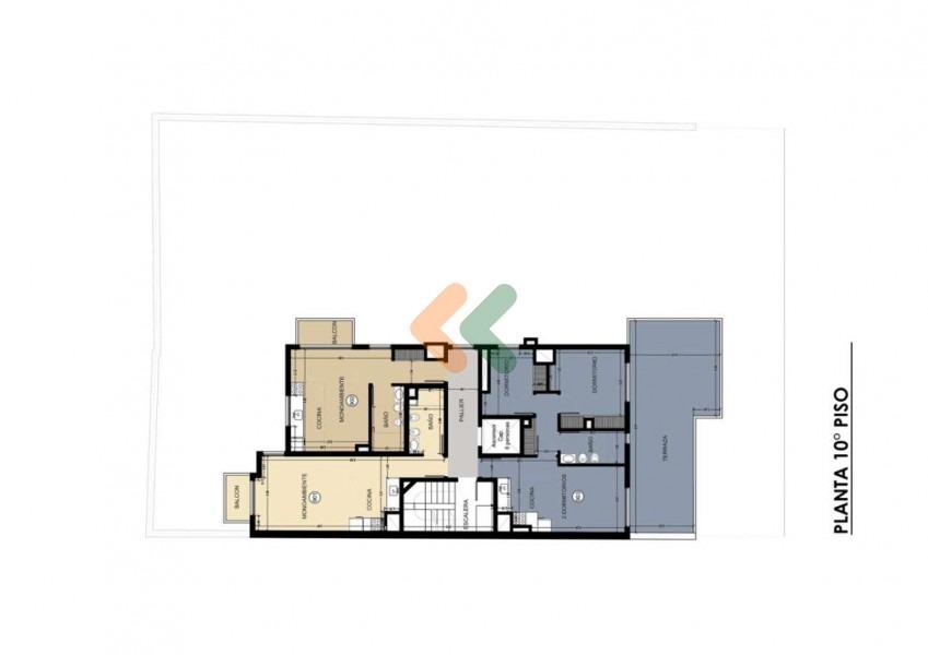 penthouse en punta carretas en edificio de calidad- ref: 3587