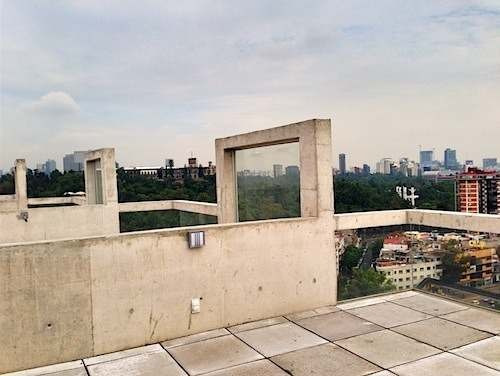penthouse en renta condesa con vista panorámica