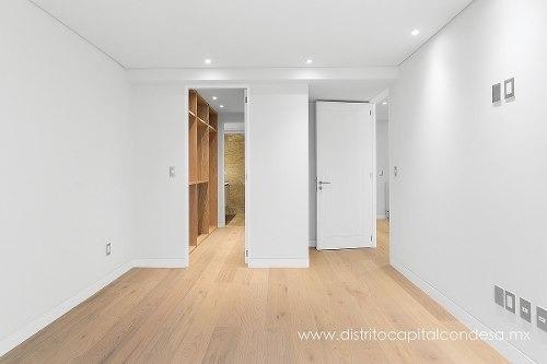 penthouse en renta en lamartine, col. polanco, cdmx