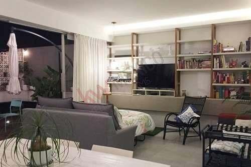 penthouse en renta en vértiz narvarte listo para disfrutar una espectacular vista