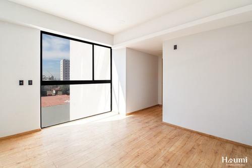 penthouse en venta en edificio en col. la paz