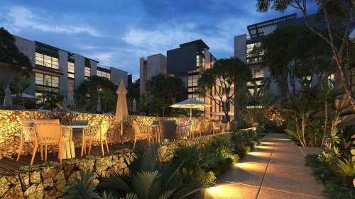 penthouse en venta en villas del sol, mérida (terrace & roof garden)