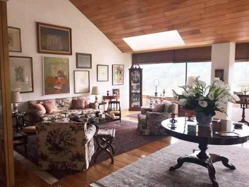 penthouse en venta / jardines en la montaña