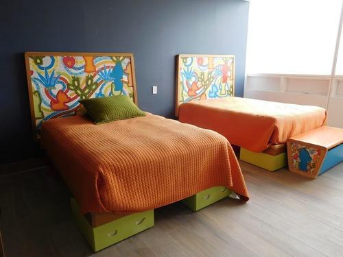 penthouse  en venta, lomas del chamizal, cuajimalpa