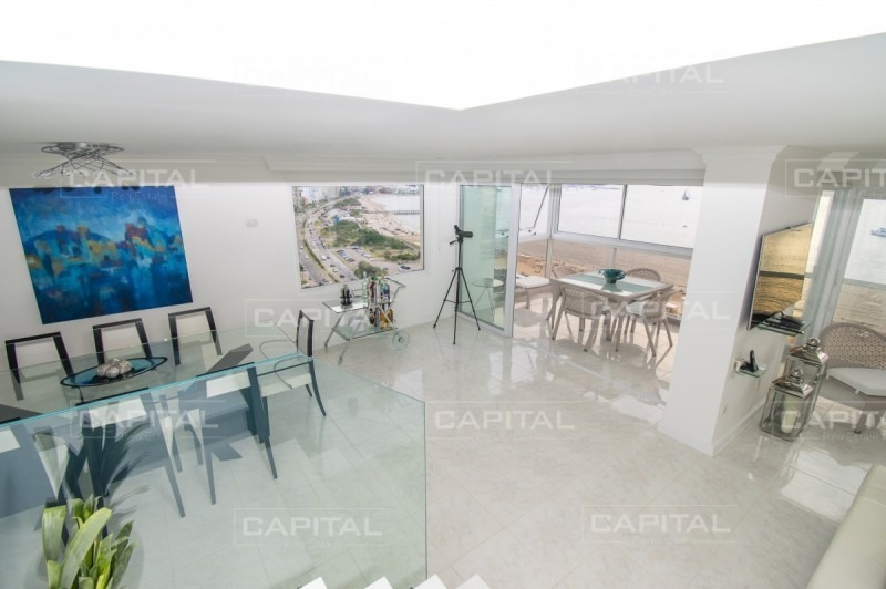 penthouse en venta, mansa, punta del este, vista playa mansa.-ref:27523
