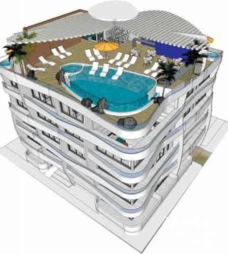penthouse en venta zona playa del carmen qm-1d