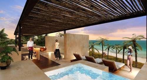 penthouse nuevo en la playa con amenidades, olá, telchac, yucatán