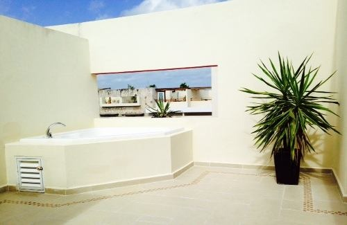 penthouse sarabia playa del carmen lujo excelente ubicación