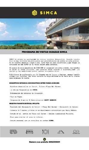 penthouse venta en paramero, cancún, qr