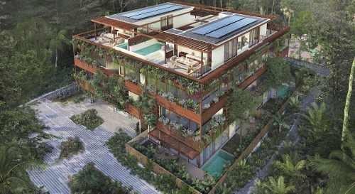 penthouses en venta nuuch tulum quintana roo