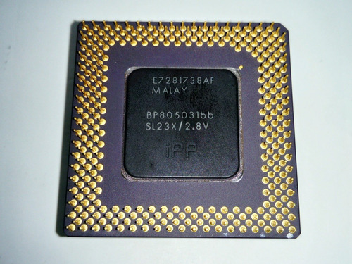 pentium 1 166/16/66 2.8v  socket 7 + disipador + fancooler