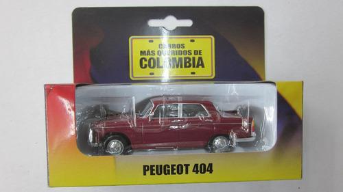 peogeot  coleccion el tiempo  escala 1/43 eilcolombia