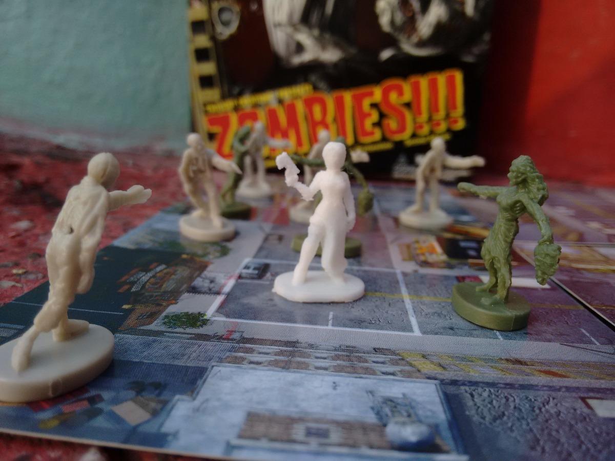 Peones Resident Evil Zombies Juego De Mesa Miniatura 25mm
