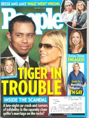 people: tiger woods / billy ray cyrus / michelle branch
