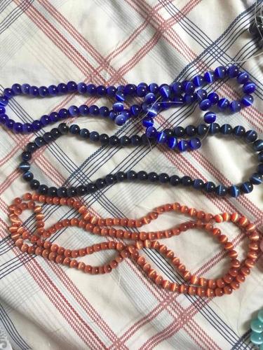 pepas acrílicas para collares pulseras rosarios 3 doc.