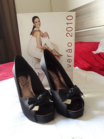 ef2138b121 Sapato Peep Toe Luciana Gimenez - Calçados