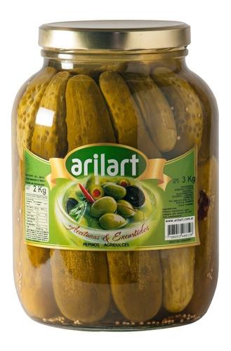 pepinos agridulces premium x 2 kg - arilart