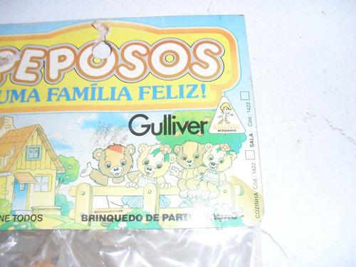 peposos uma familia feliz brinquedo antigo da gulliver