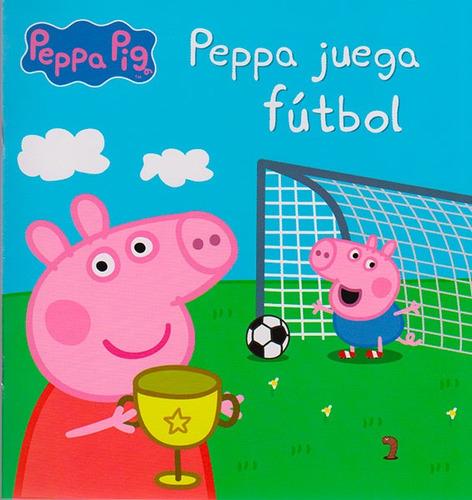 peppa juega fútbol