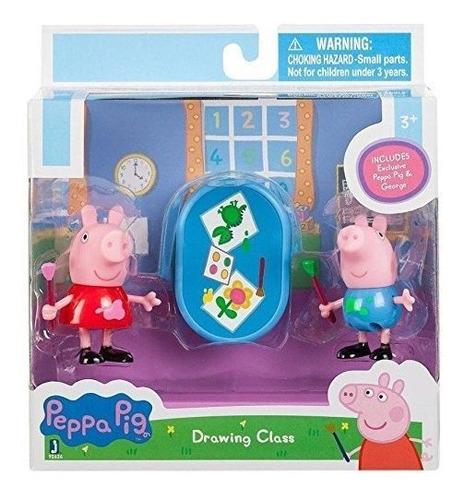peppa pig 92626 y george drawing toy figure.