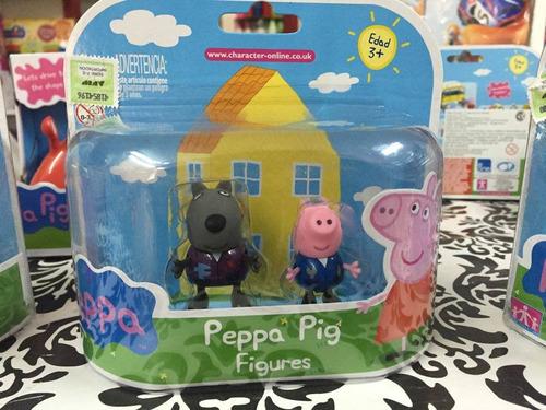 peppa pig amigos figuras coleccionables!