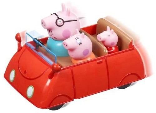peppa pig . auto push and go-jugueteria minijuegos!