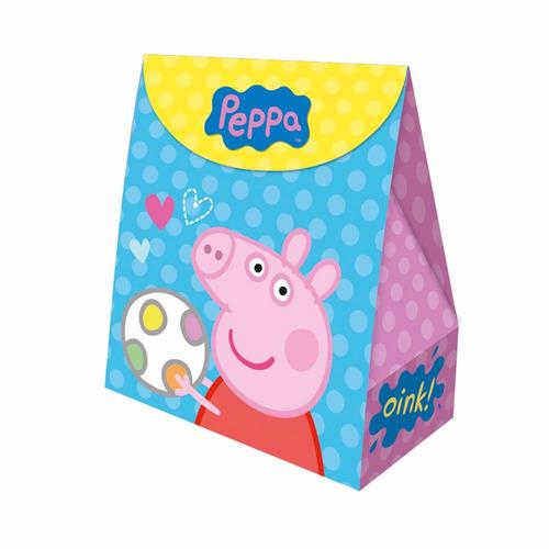 peppa pig caixa surpresa 08 unidades