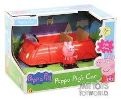 peppa pig carro