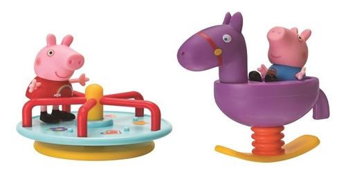 peppa pig - carrusel parque de juegos