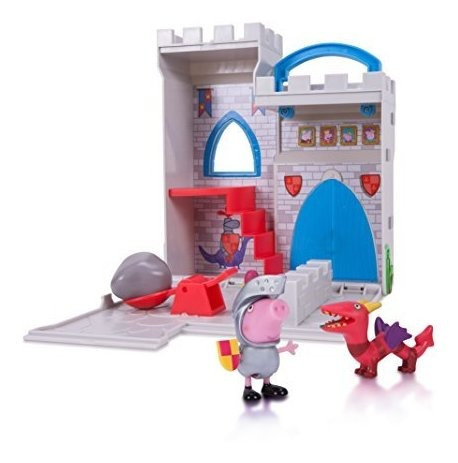 peppa pig castle fort little places playset.