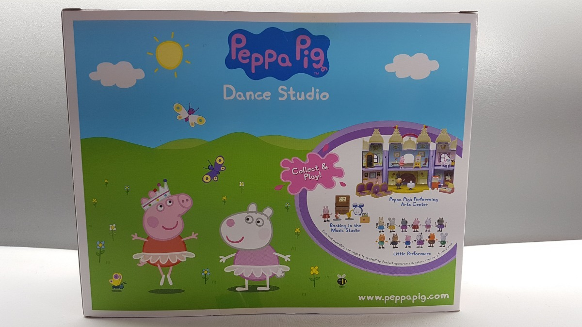 Dance Studio Peppa Pig Action Figures Statues Playsets Vehicles