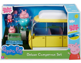 Pig Peppa Deluxe Deluxe Pig Peppa CampervanFamilia CampervanFamilia Peppa kZTOPiuX