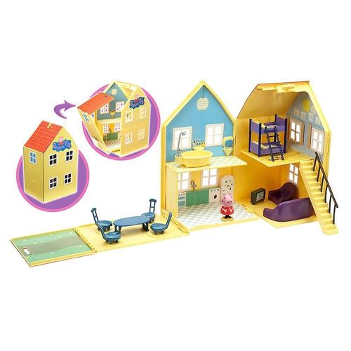 peppa pig! deluxe play house casa caja con detalle