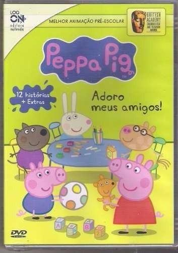 peppa pig dvd português 9 dvds 140 episódios frete grátis