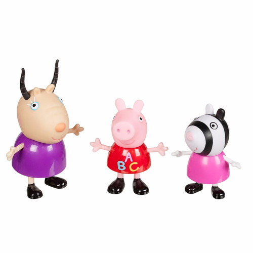peppa pig e seus amiguinhos na escola c madame gazela