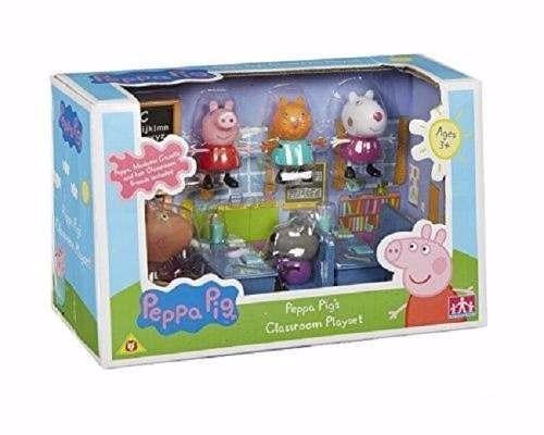 peppa pig - escuela aula - jugueteria aplausos