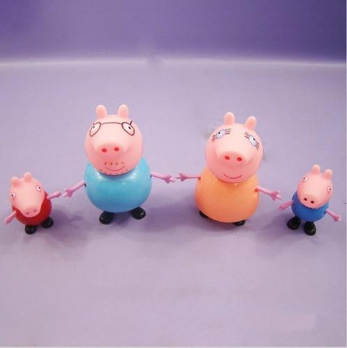 peppa pig família + amigos coleção 17 bonecos pronta entrega
