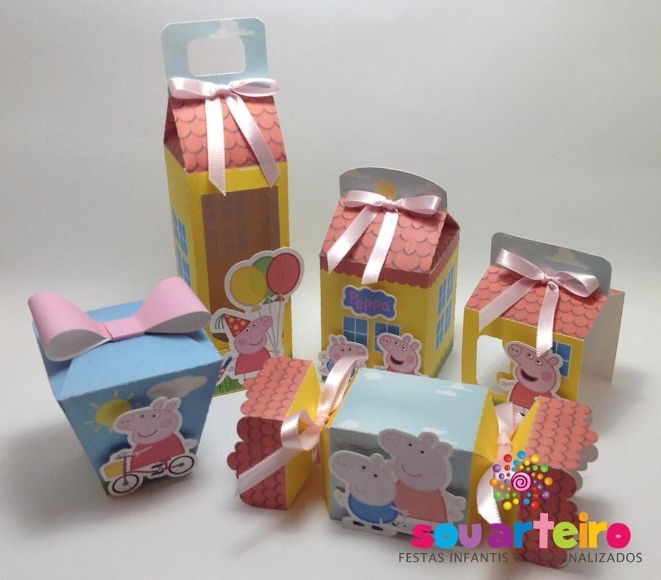 Peppa Pig Kit Festa Pronta Imprimir E Recortar Silhouette R 1