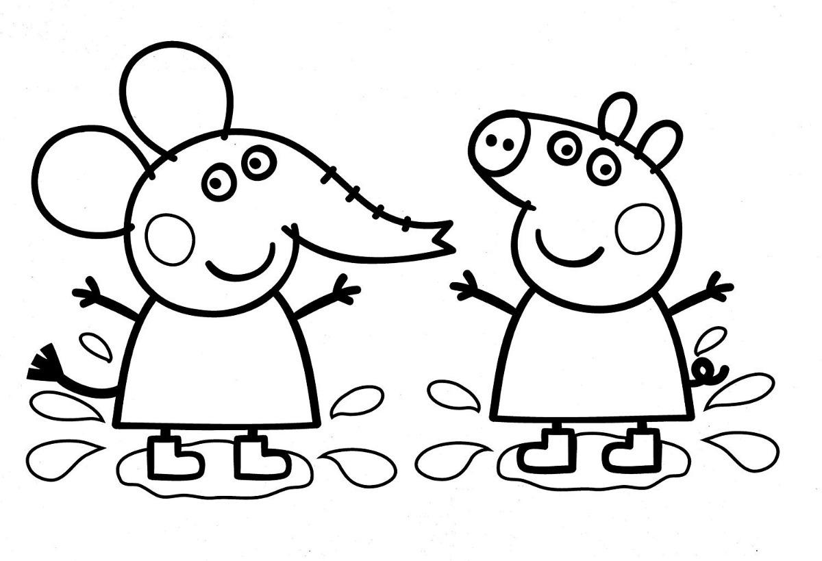 Peppa Pig Libro De Arte Para Colorear Con Crayones 870 00 En