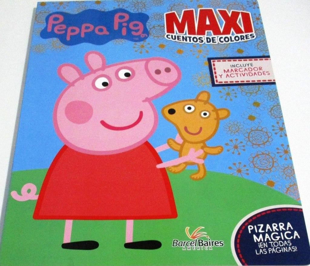 Peppa - Pig Maxicuentos De Colores Libro+pizarra 1 Volumen - $ 999 ...