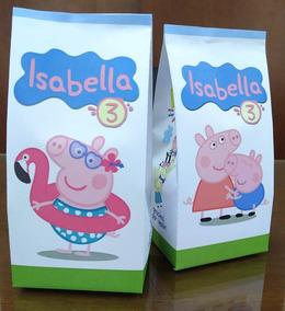 b535f38be Bolsitas De Peppa Pig Goma Eva en Mercado Libre Argentina